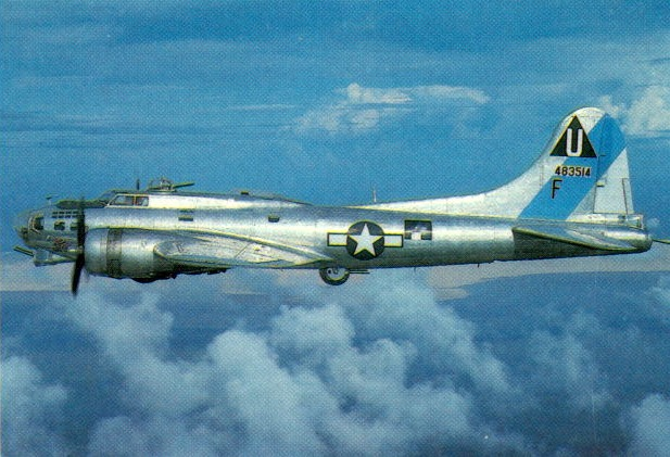 B17 in flight